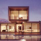 キューブ型のお家