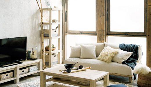 ウニコの家具シリーズ マノアが海を感じる雰囲気で素敵