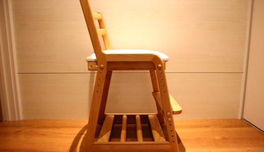 一生紀で人気の木製学習椅子『ライフ』の評価【レビュー付き】