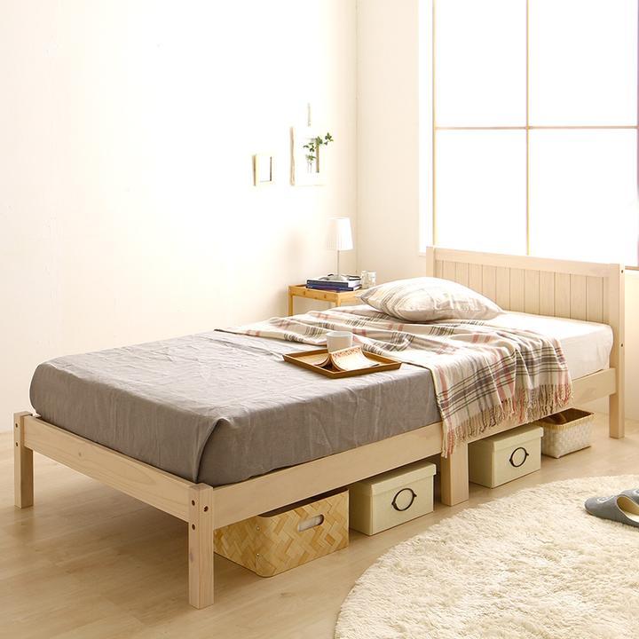 女性 おすすめ 木製ベッド
