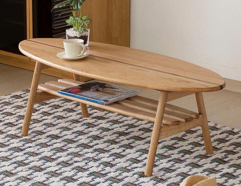 オシャレ 木製ローテーブル おすすめ