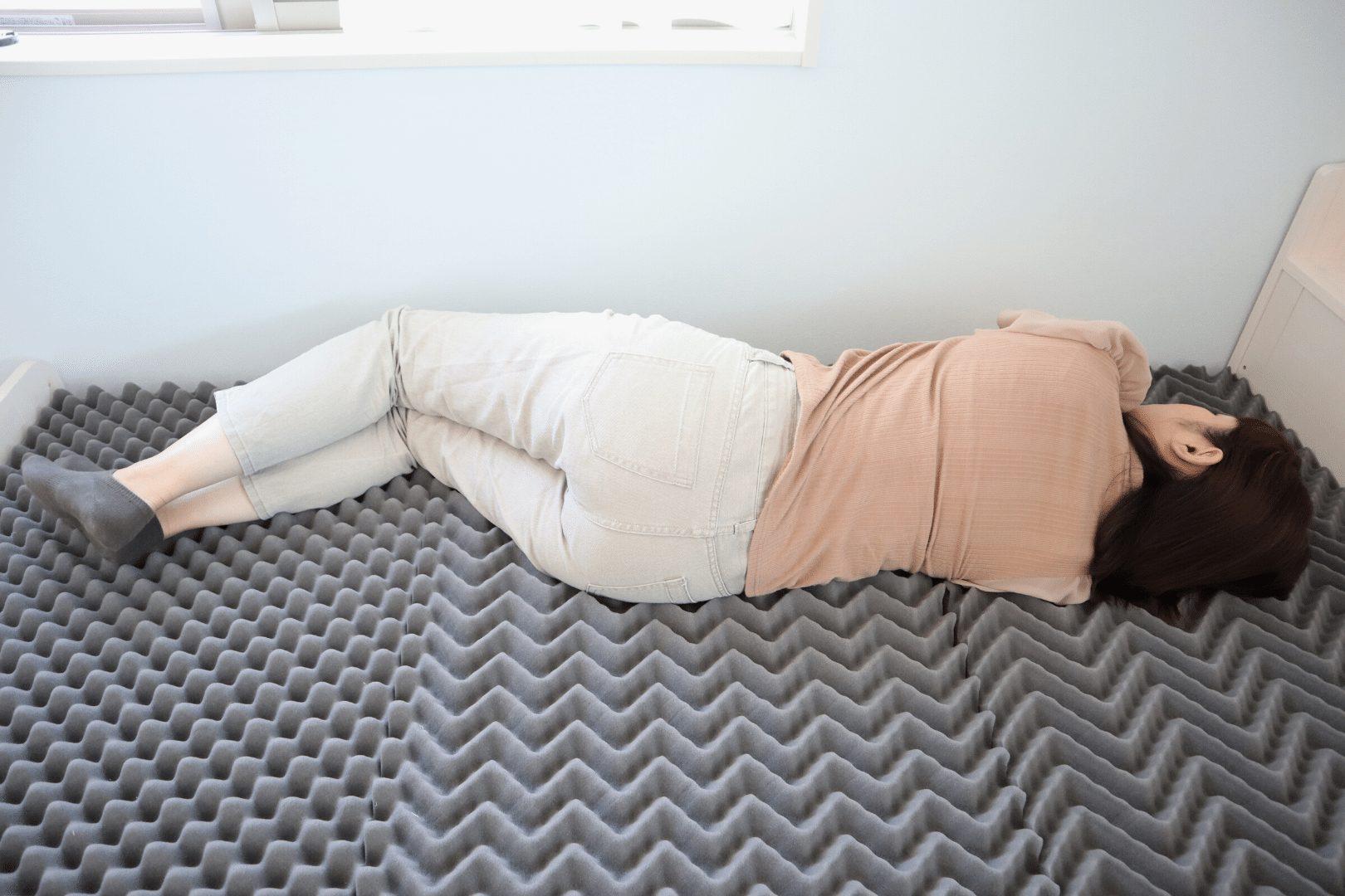 メディカルマットレス 横寝 寝心地
